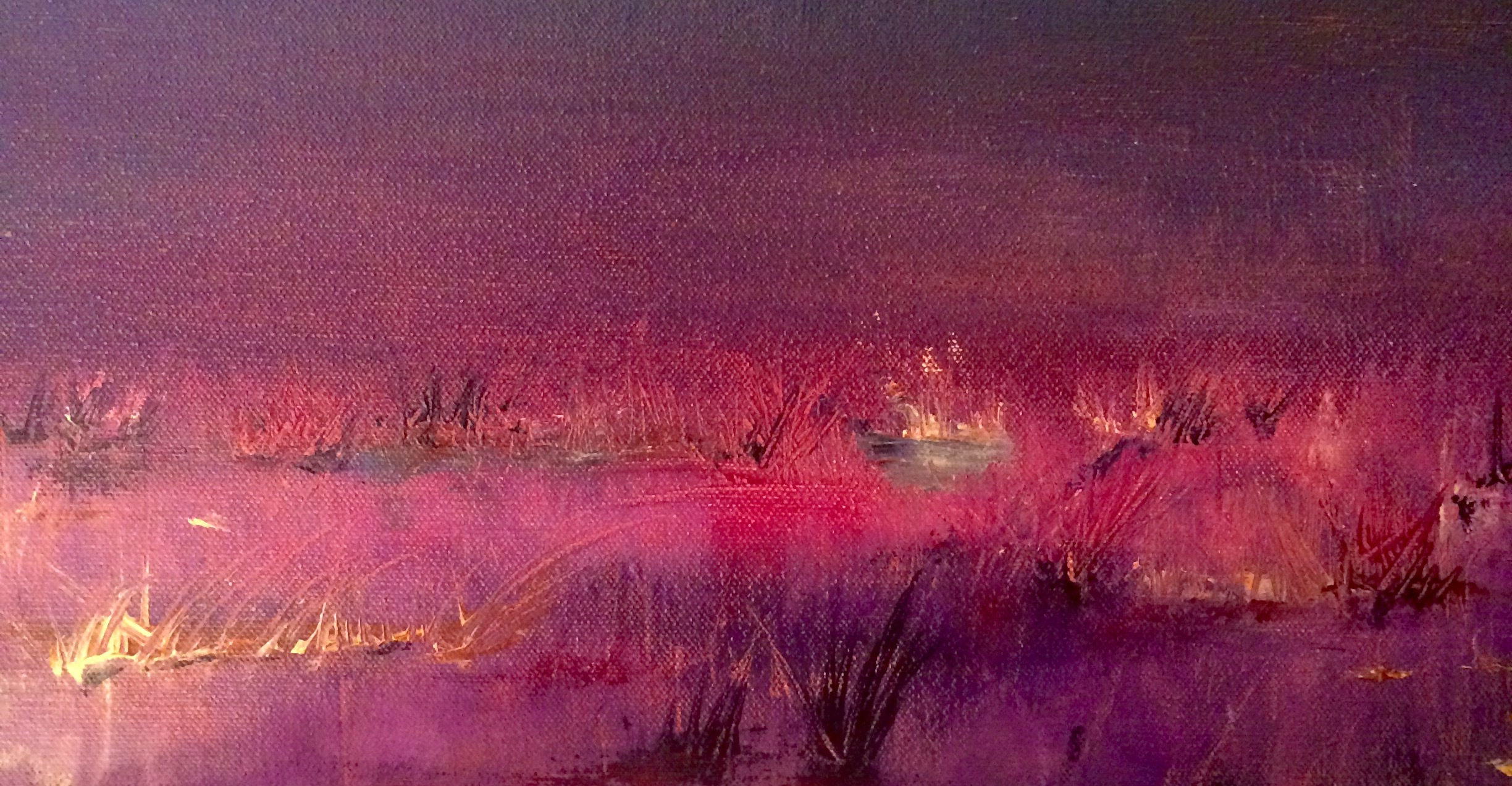 Contemporary Abstract Impressionistic Acrylic Paintings by Margaret La Bounty